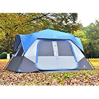 ALPHA CAMP 8 Person Instant Cabin Tent Camping/Traveling...