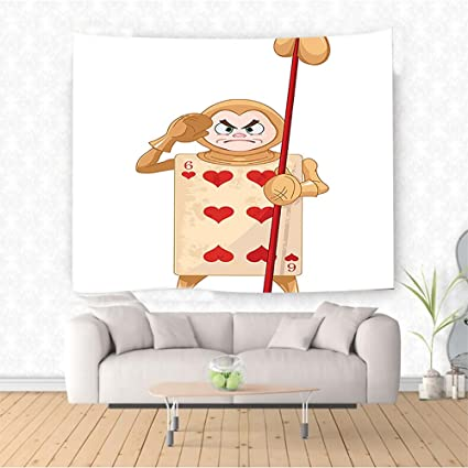 Amazon Com Nalahome In Wonderland Decorations Card Soldier Heart