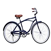 Bicicleta Vintage Cruiser Rodada 26 para Caballero-Azul