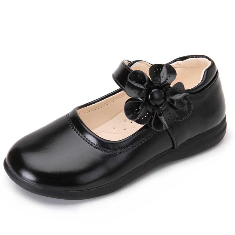32425604415 YING LAN Toddler Little Big Girls Flower Girl Dress Princess Ballet Dance  Mary Jane Flat Shoes