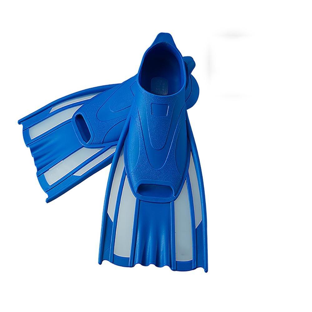 YOUAY Flippers Junior  Per il nuoto  bambini Adulto immersione pinne Formazione attrezzatura  Lungo palmato, UK2.5/3.5-EU35/36-US4.5/5.5