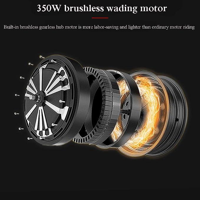 Amazon.com: Scooters eléctrico para adultos, plegable, 264.6 ...