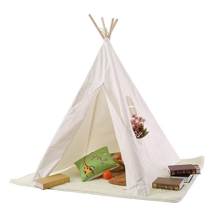 PericrossTM niños Tienda India Tipi Tienda de campaña de algodón 100%: Amazon.es: Juguetes y juegos