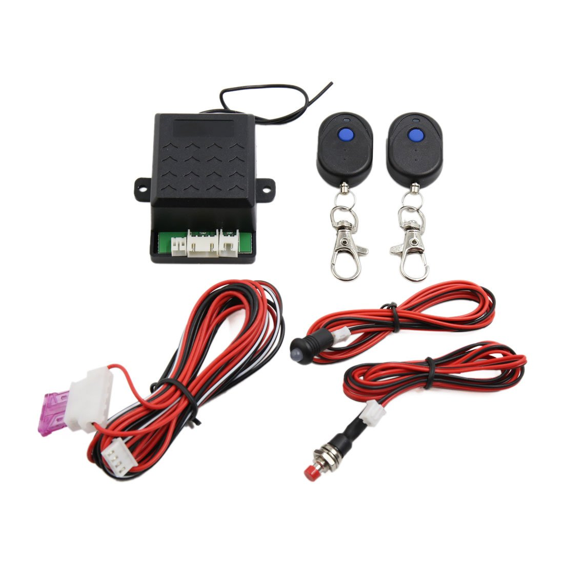 uxcell Universal Car Engine Immobilizer Lock Anti robbery system Anti-stealing Alarm System