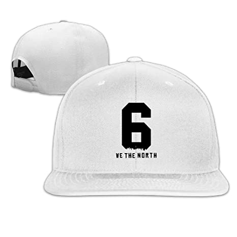 955b915caa7 Toronto Raptors Basketball WE THE NORTH 6IX Logo Men Women Baseball Hats  White (8 Colors)  Amazon.ca  Clothing   Accessories