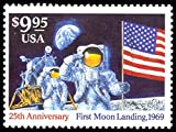 First Moon Landing 1994 $9.95 Express Mail Single Stamp Scott 2842