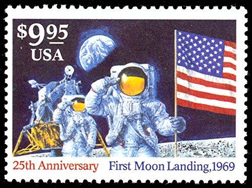 First Moon Landing 1994 $9.95 Express Mail Single Stamp Scott 2842