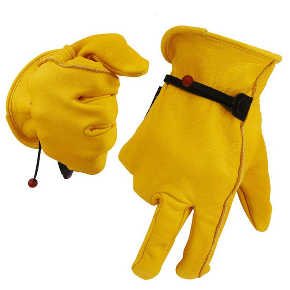 Rsafh Animal Treatment Gloves Leather Anti Scratch Gloves