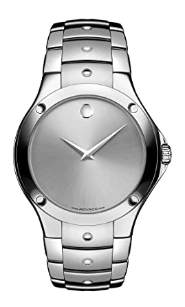 amazon com movado men s 605789 s e swiss quartz watch movado movado men s 605789 s e swiss quartz watch