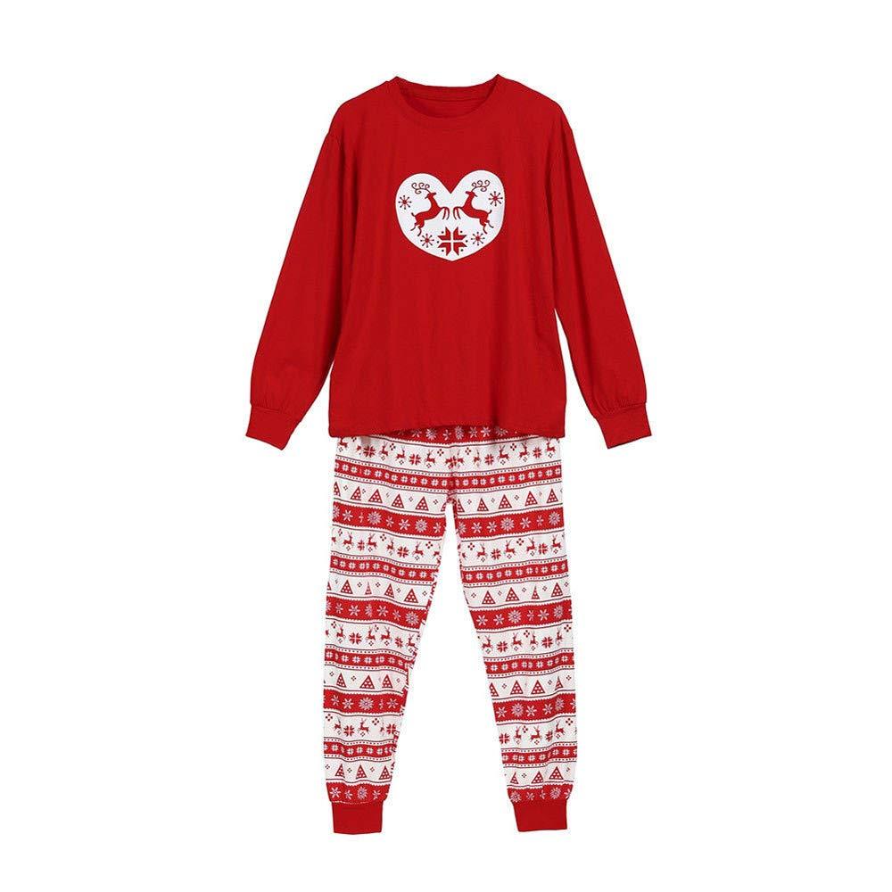 cinnamou Pijama Familiar NavideñO Pijama Estampado Leonado Pijama ...