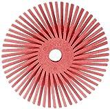 Scotch-Brite Radial Bristle Disc, 9/16 in x 1/16 in Pumice, 48 per inner 192/case