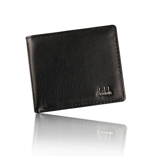 1be28226b091 Toraway Wallet, Luxury Men Stylish Bifold Business Leather Wallet Purse  with Card Windows Slots