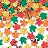 Maple Leaf Metallic Confetti, 2.5oz