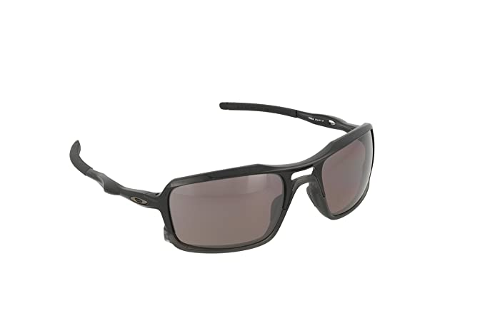 2fb987e6302 Oakley Men s Triggerman OO9266-06 Polarized Rectangular Sunglasses ...