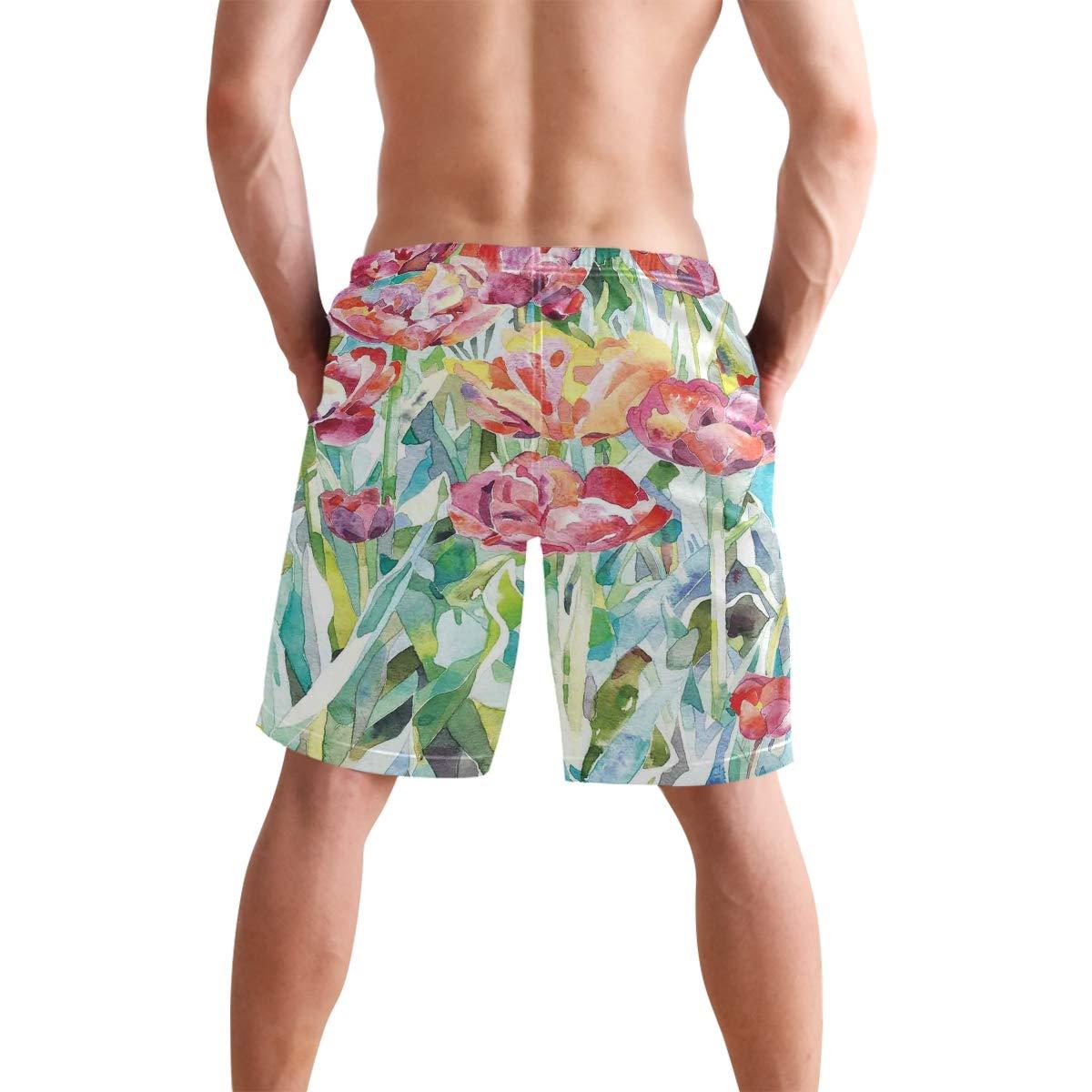 KVMV Oriental Wisdom of Soul Heroic Figure Tattoo Paintbrush Art 5size Beach Shorts