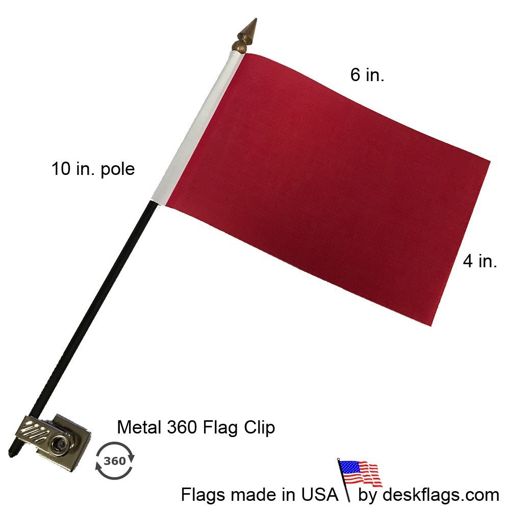 20 Pack Red Desk Flags with Flag up Flag Down 360 Metal Clips Pomodoro Status Alert Office by Deskflag (Image #3)