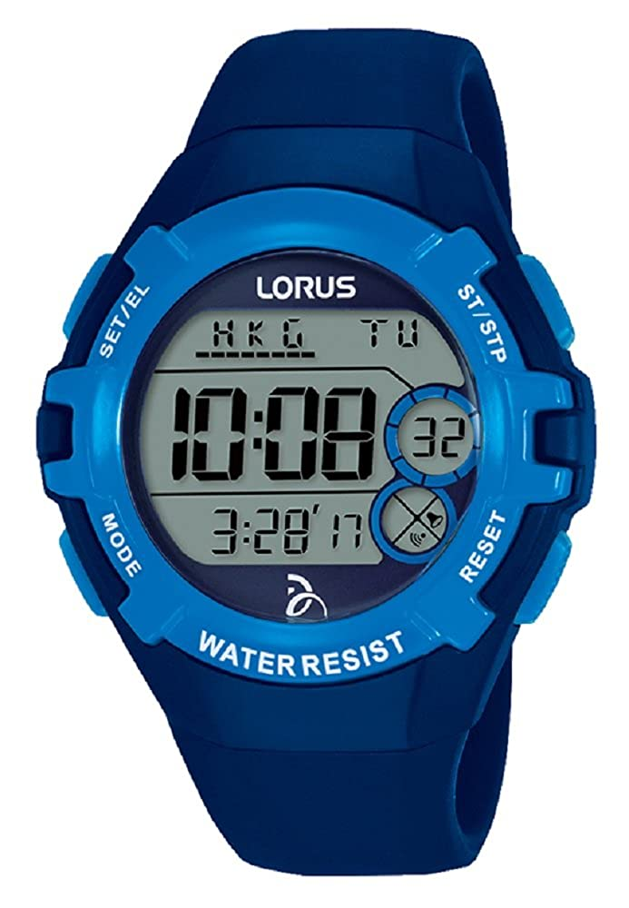Lorus Reloj Digital para Unisex de Cuarzo con Correa en Silicona R2391LX9