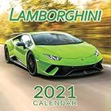 Lamborghini Calendar 2021: January 2021 through February 2022, Automobile Calendar, Supercars Calendar