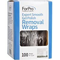 For Pro Expert Gel Polish Removal Wrap, 100 Count
