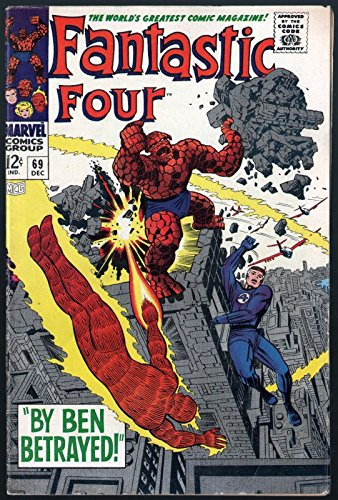Fantastic Four (1961) #69 FN+ (6.5)