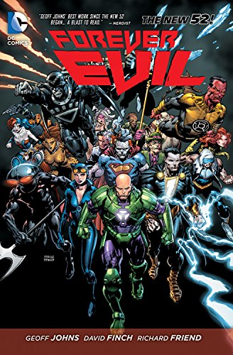 Which are the best forever evil geoff johns available in 2019?