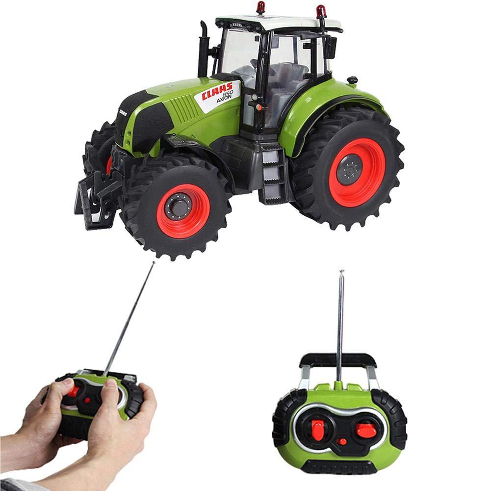 Claas Jouet Tracteur 2.4G T/él/écommande Pneus En Caoutchouc Big-foot Play Wild State Jouets De Voiture De Course De Contr/ôle /À Distance Pour Les Enfants Voiture Mod/èle 1:16 Farmer Gar/çons Jouets J