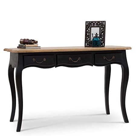 Dinan Desk - Black & Natural