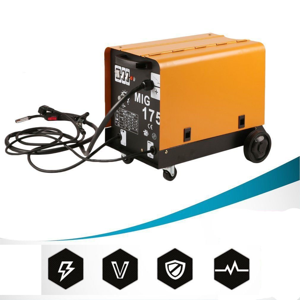 COMOTS Fü lldraht Schweiß gerä te MIG-175 Lü fterkü hldraht 60-160A Hochleistungs Schutzgas Schweiß gerä t Tragbare Schweissmaschine Inverter-Schweiß gerä t