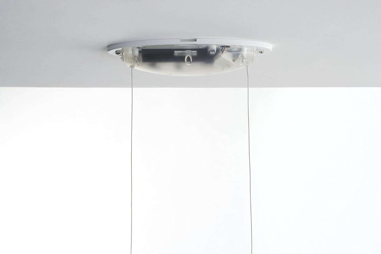 White Philips 439923148 Wave LED Island Light