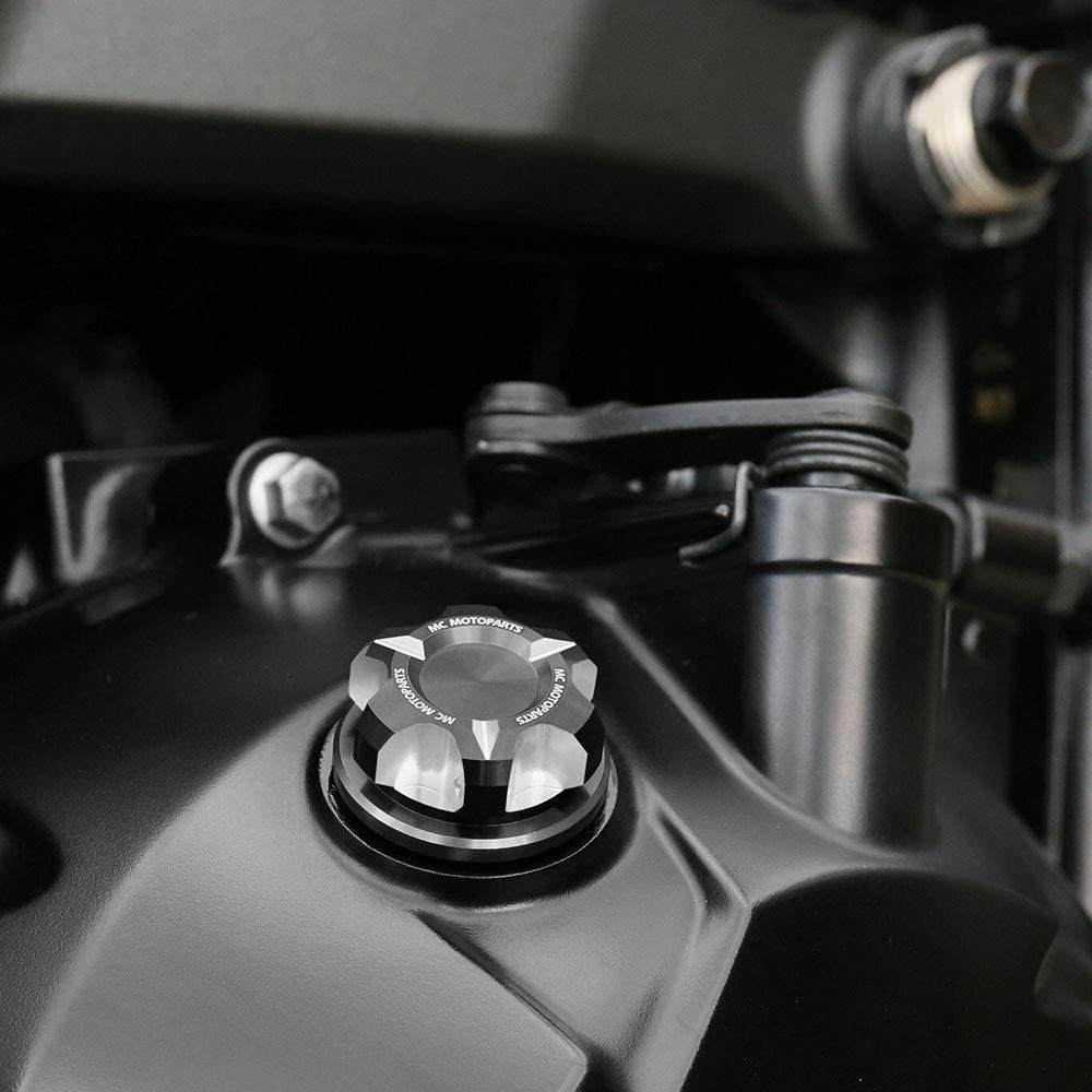 T-Axis Red CNC Oil Filler Cap For Suzuki GSX S1000 S750 F GSX-S 750 GSX-R 750 600 1000 16 17 18 19 Hayabusa SV650 SV1000 B-King GSR 750 600 Bandit 650 1250 S GSF 600 2020 2019 2018 2017
