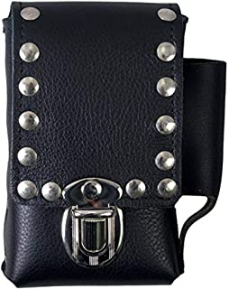 "product image for Hot Leathers - CSB1007 Black, 4""X6"" CSB1007 Black 4"" x 6"" Studded Cigarette Case"