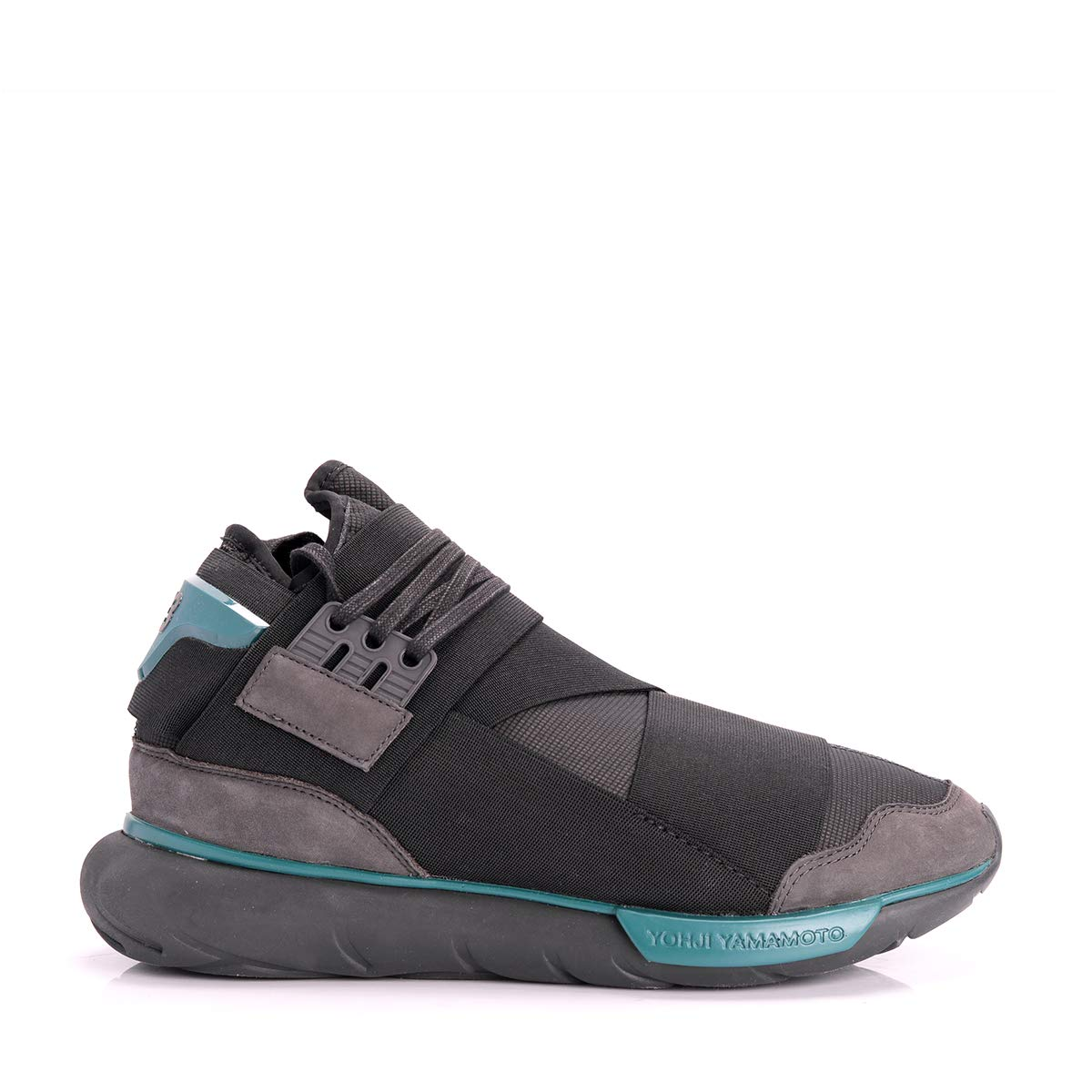 1d9f4591e ... Y-3 Qasa High Chamel Grey 9 Amazon.co.uk Clothing  Adidas Y-3 Yohji  Yamamoto Qasa High Chamel ...