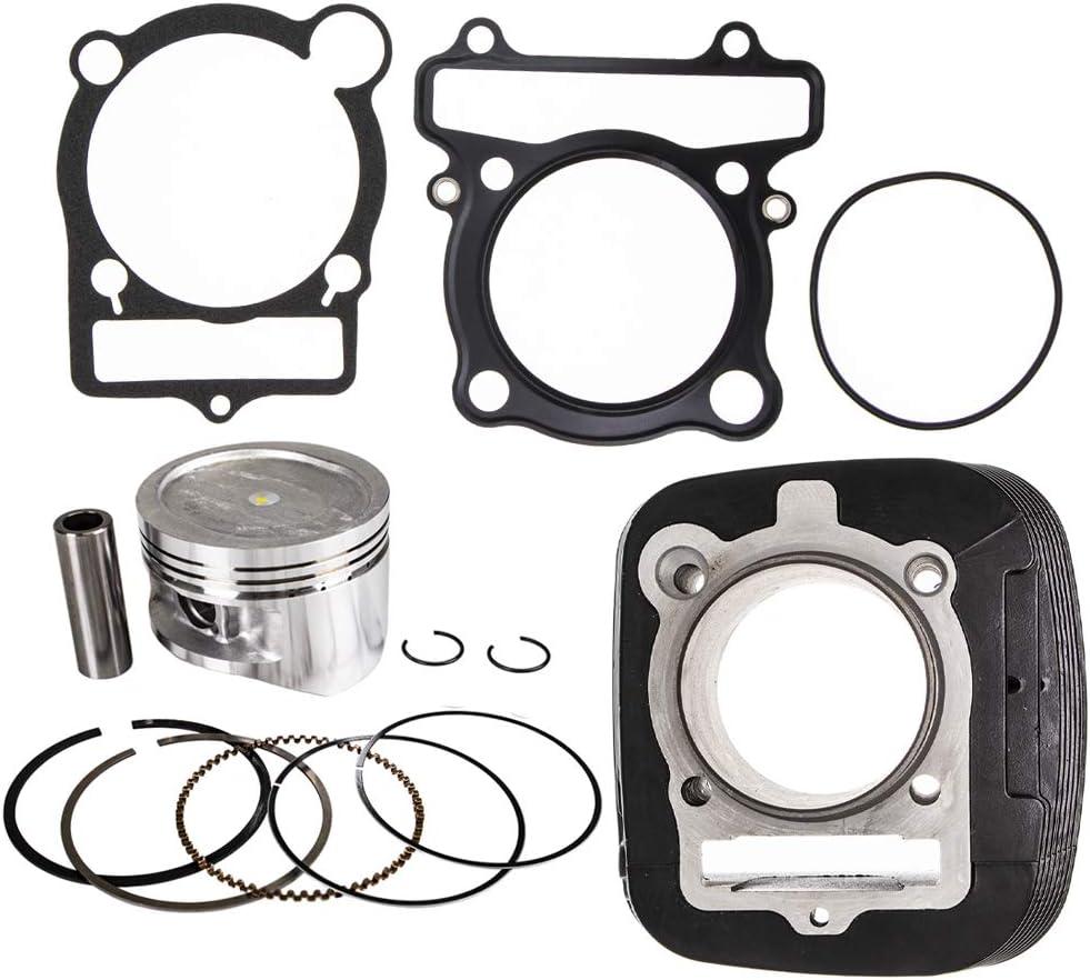 NICHE Cylinder Piston Gasket Kit For Yamaha Big Bear Kodiak 400 1993-2012 Replaces 4GB-11310-00-00 5FU-11310-01-00 83mm Bore