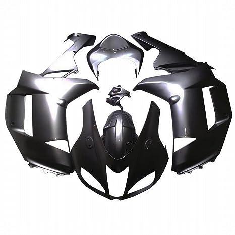 Embellecedores para carrocería marco plástico ABS Custom motocicleta carenado cuerpo Set para Kawasaki Ninja ZX6R ZX636
