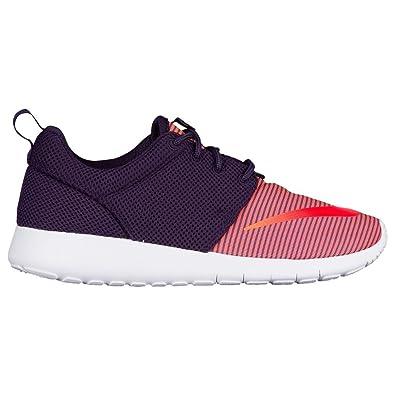 ee9e3654f8da NIKE Boys Roshe One GS Running Shoes-Purple Citrus Crimson-5.5