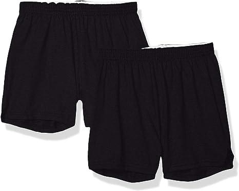 Black NEW Soffe Womens-Juniors Cheerleading Dance Gym Cheer Shorts XS