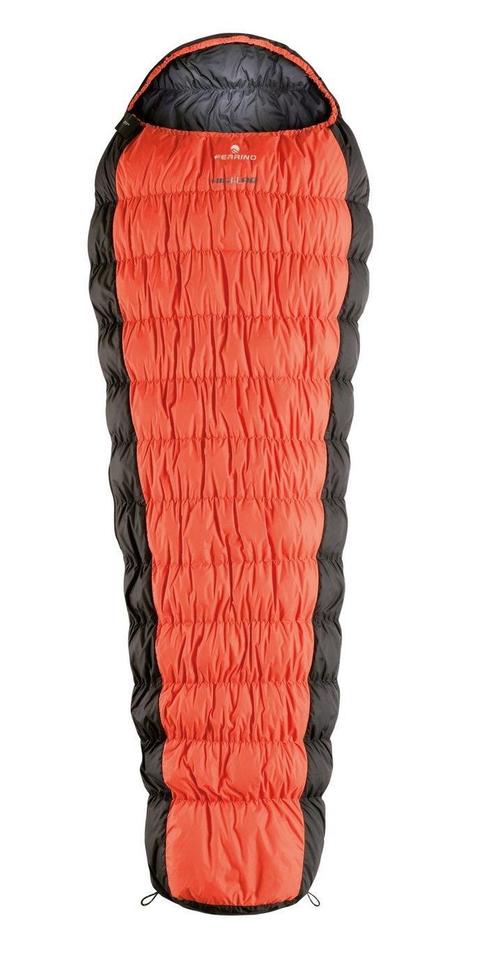 Ferrino Highlab Hl Revolution 1200 Wts Mummy Sleeping Bag, Orange/Black, Large by Ferrino