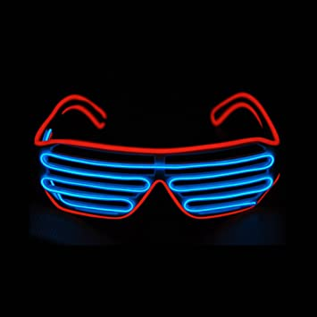 Apparel Accessories Well-Educated Led Wire Glasses Light Up Glow Sunglasses Eyewear Shades For Nightclub Party Night Vision Glasses