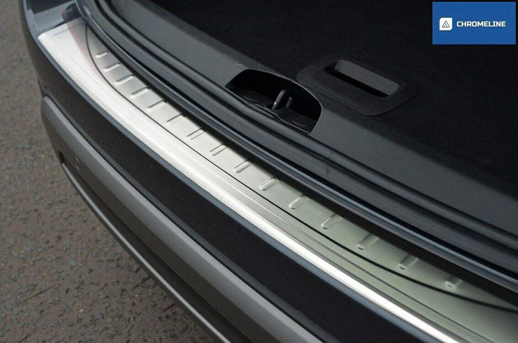 Chromeline TO FIT VOLVO XC90 2015CHROME REAR BUMPER PROTECTOR SILL COVER GUARD BRUSHED STAINLESS STEEL