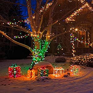 [UPDATED DIMMABLE COLOR Outdoor Lights] Star Lights, TaoTronics Décor Lights Copper Wire Lights With 33 ft Led Starry String Lights Rope Light For Seasonal Decorative Christmas Holiday, Wedding, Party