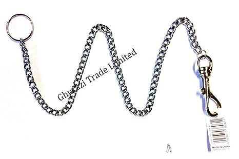 Llavero extra fuerte de cadena larga con clip para cinturón ...