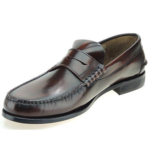 Jam 1001 Mocasín Piel Estilo Castellano en Tallas Grandes para Hombre Whisky Talla 48: Amazon.es: Zapatos y complementos