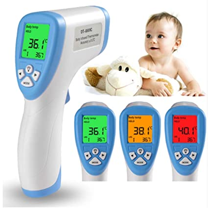 Digital Ir Infrared Ear Forehead Thermometer Baby Fever Temperature Meter Yr Durable Service Baby Thermometers