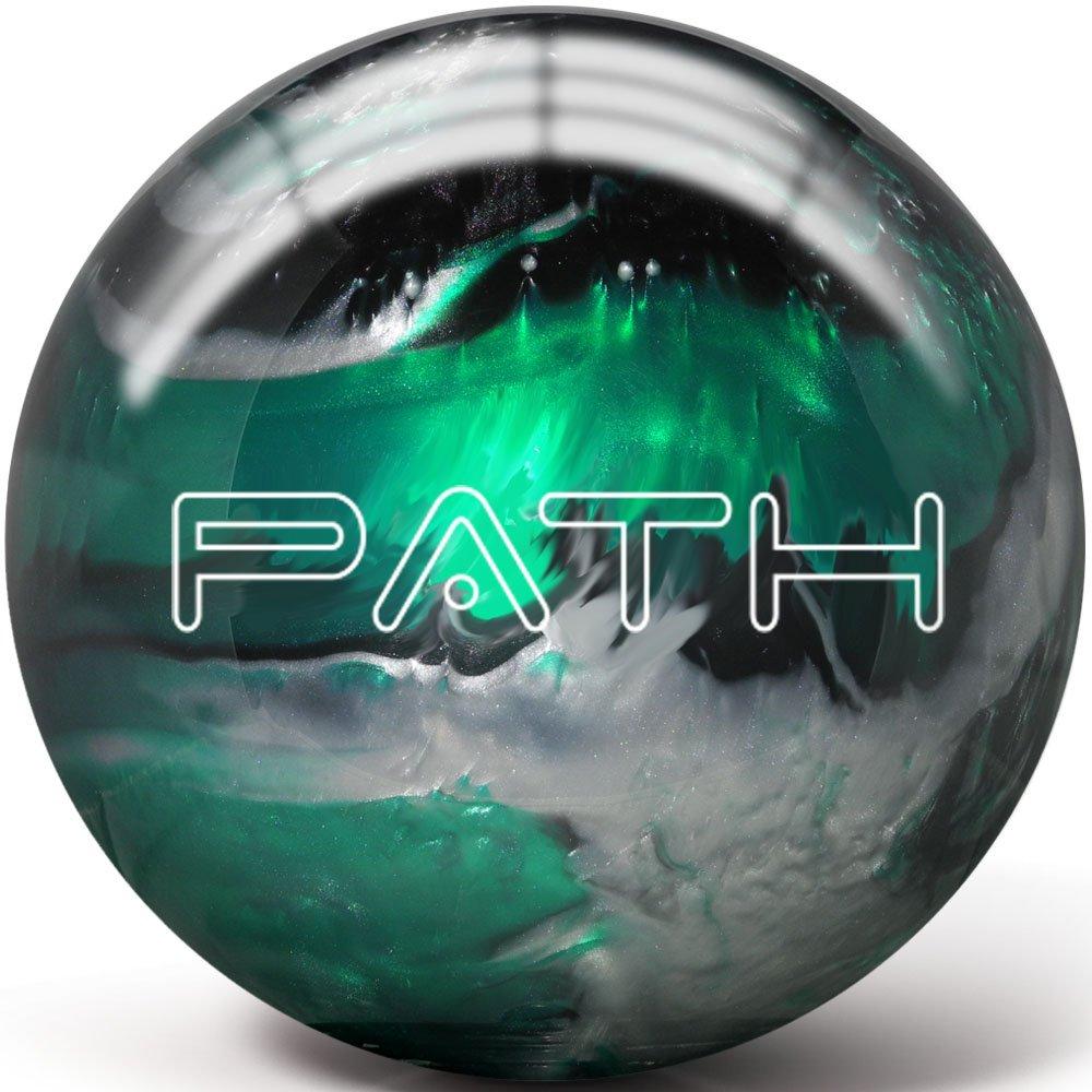 Pyramid Path ボーリングボール B07D93LW9V 15 LB|Emerald/Black/Silver Emerald/Black/Silver 15 LB
