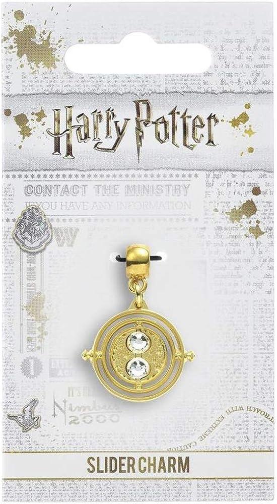 Harry Potter Slider Charm Time Turner Carat Shop Pendenti Collane gold plated