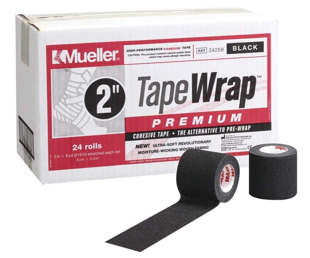 Mueller Tape Wrap Premium 2 inch Black