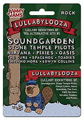 Jammy Jams Lullabylooza '90s Alternative Goes Lullaby Download Card