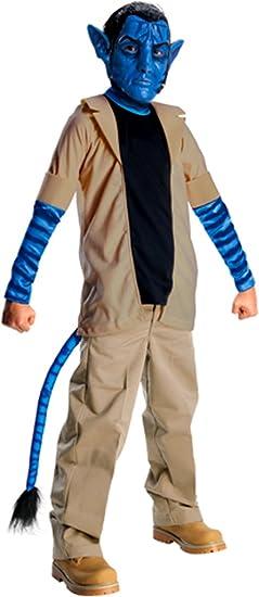 Rubies Costumes 197382 Avatar Jake Sully Ni-o Traje Azul-Brown ...