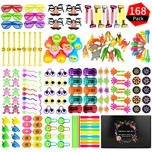 Planning Kindergarten Halloween Party (Party Prize,Party Favor for Kids Toy Assortment, ZOYJITU 168PCS Treasure Box Prizes for Classroom,Birthday Party, Kids Birthday Party Favors for Goodie Bag Fillers, Assorted Pinata)