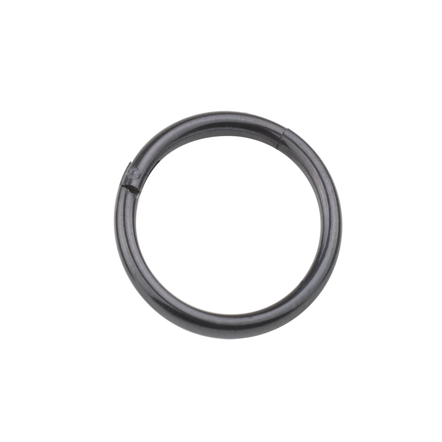 A+ CM 16 Guage 5/16''(8mm) Hinged Seamless Septum Clicker Ring 316L Surgical Steel Fashion Piercing Jewelry